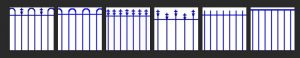 Pool fence profile